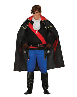 Disfraz de corsario de los siete mares para hombre