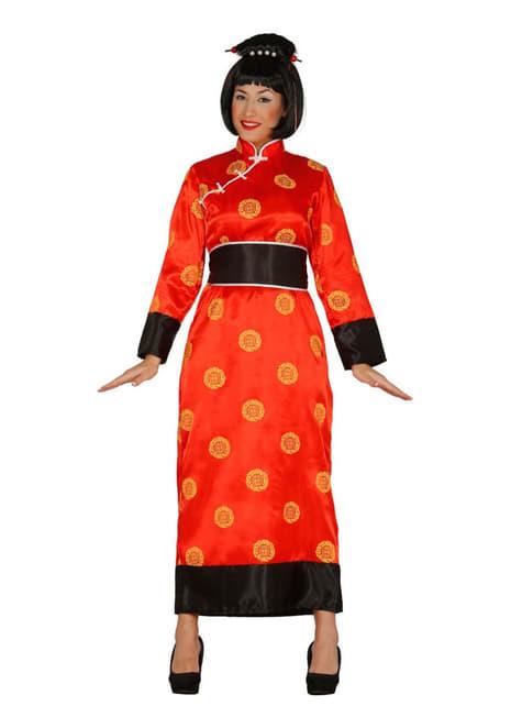 レディース中国人女性コスチューム