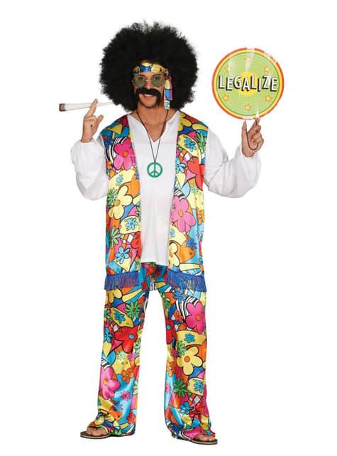 Kostum pakaian hippy percuma