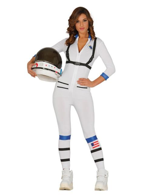 女性のセクシーな宇宙飛行士の衣装