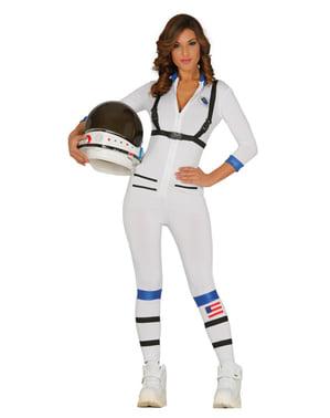 Fato de astronauta sexy para mulher