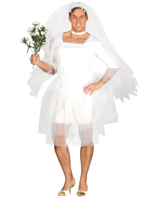 Mens bride costume