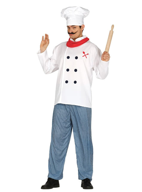 Disfraz de chef profesional para hombre