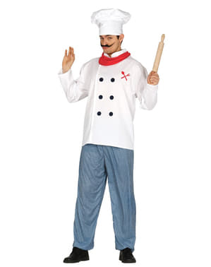 Costume da chef professionale uomo