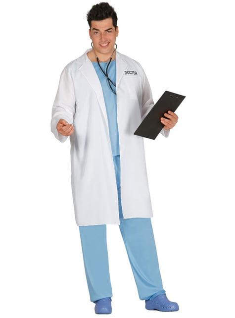 Disfraz de doctor atractivo para hombre