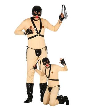 Mens sadism bondage costume