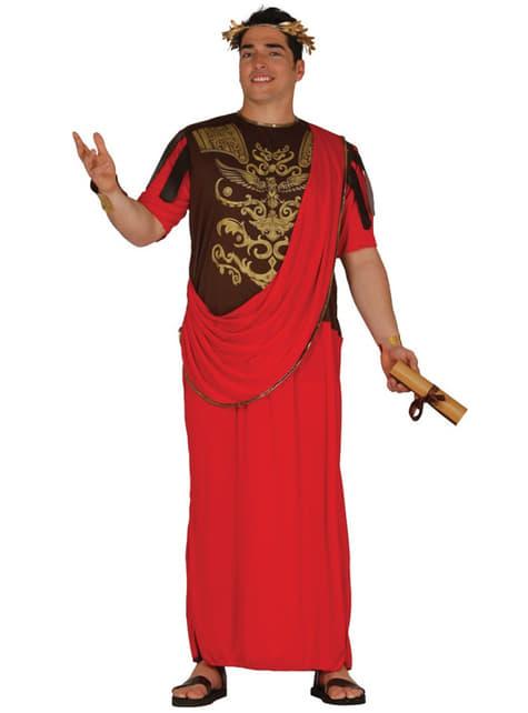 Disfraz de emperador para hombre