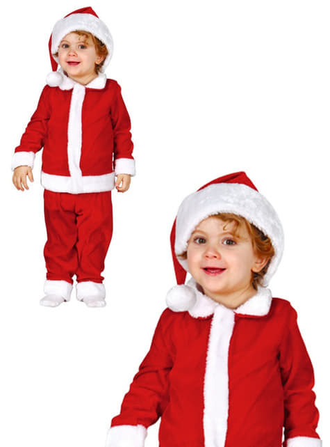 Babies Sweet Father Christmas Costume