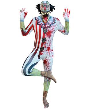 Disfraz de payaso zombie Morphsuit