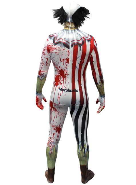 Disfraz de payaso zombie Morphsuit - original
