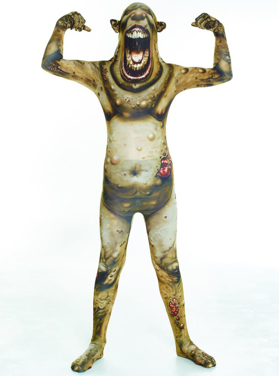 d guisement zombie brul morphsuit enfant funidelia. Black Bedroom Furniture Sets. Home Design Ideas