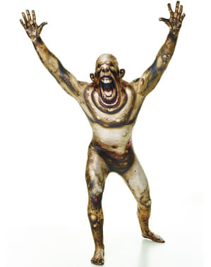 Scorched zombie Morphsuit costume