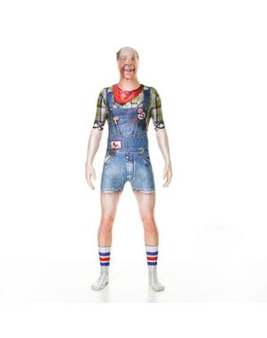 Psiko köylü Morphsuit kostümü