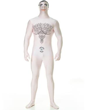 Déguisement poupée gonflable homme Morphsuit