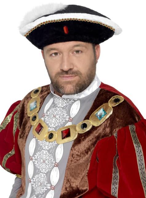 Sombrero de rey Henry para hombre