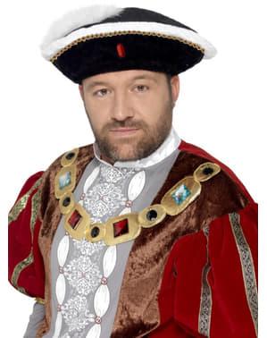 Viktoriánský klobouk Jindřich VIII