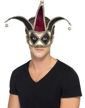 Pánská benátská maska harlekýn