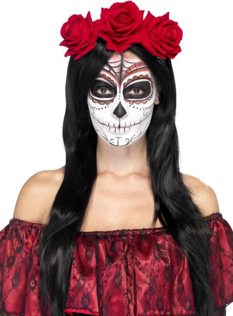 La Catrina Day of the Dead Headband for Women