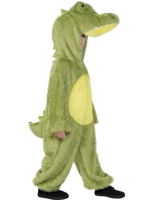 Disfraz de cocodrilo deluxe para niño