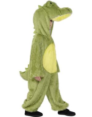 Krokodil Kostüm für Jungen deluxe