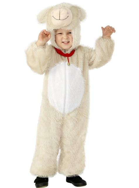 Boys Adorable Lamb Costume