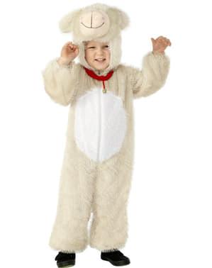 Disfraz de cordero adorable para niño