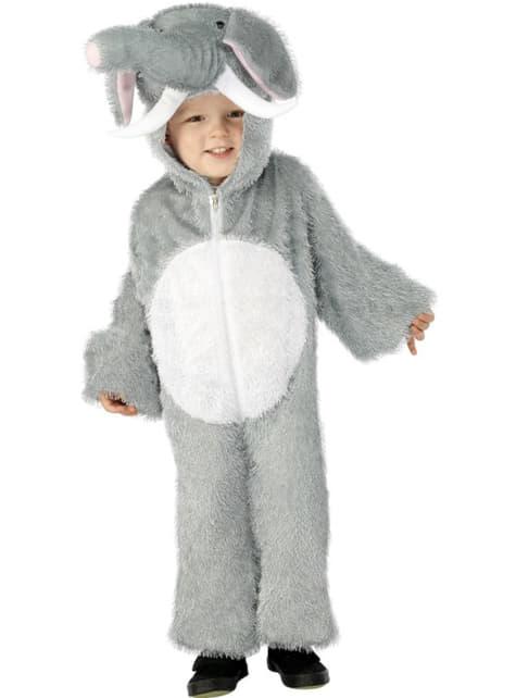 תחפושת פיל עבור ילדים קטנים