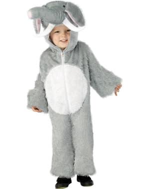 Disfraz de elefante adorable para niño