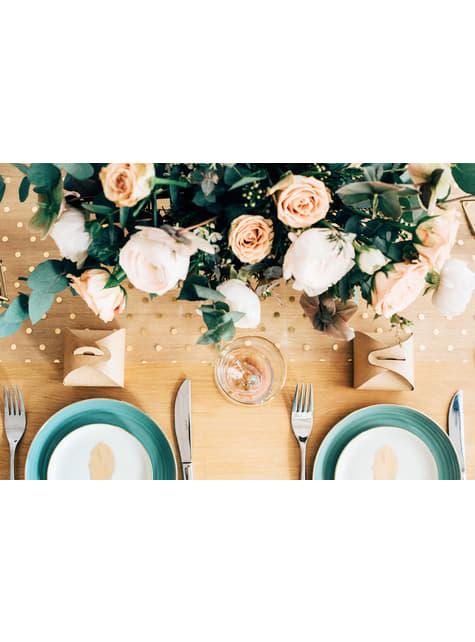 10 kraft-paperista lahjalaatikkoa - Rustic Wedding