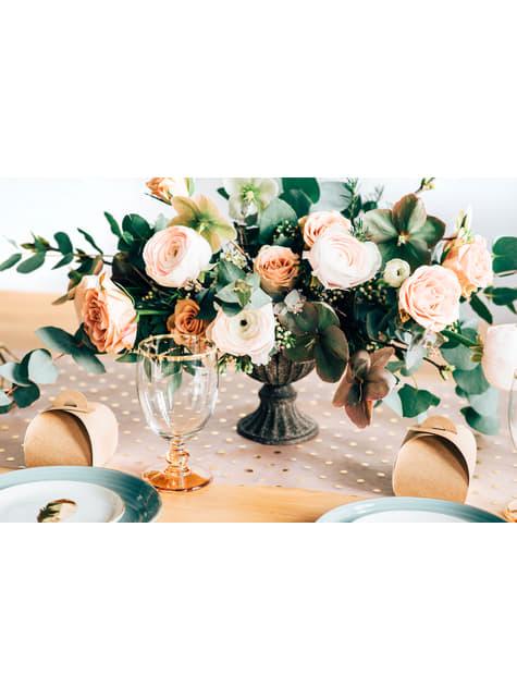 10 cajas pequeñas de regalo de papel Kraft - Rustic Wedding - para tus fiestas