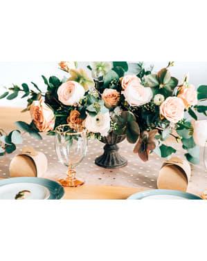 10 petites boîtes cadeaux en papier Kraft - Rustic Wedding