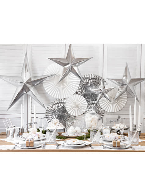 10 cajas de regalo blancas - White & Gold Wedding - para tus fiestas