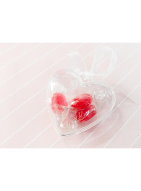 3 boîtes à gâteaux en forme de cœur