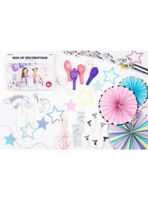 Kit de decoración de Unicornio - Unicorn Collection - para tus fiestas