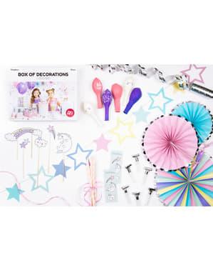 Kit de decoração de festa unicórnio - Unicorn