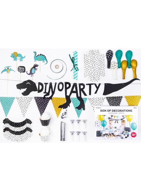 Kit de decoración de fiesta dinosaurios - Dinosaurs