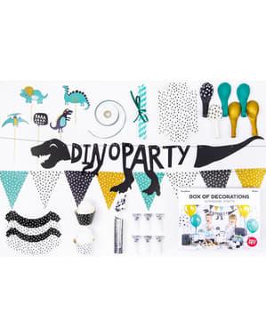 Set decorațiuni petrecere dinozauri - Dinozauri