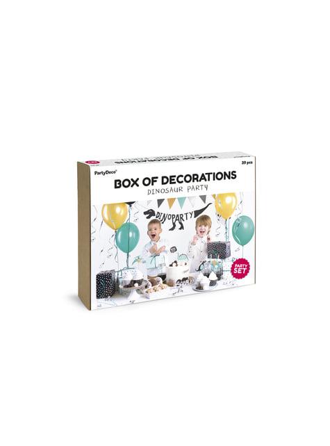 Kit de decoración de fiesta dinosaurios - Dinosaurs - para tus fiestas