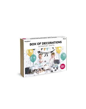 Kit décoration fête dinosaures - Dinosaures