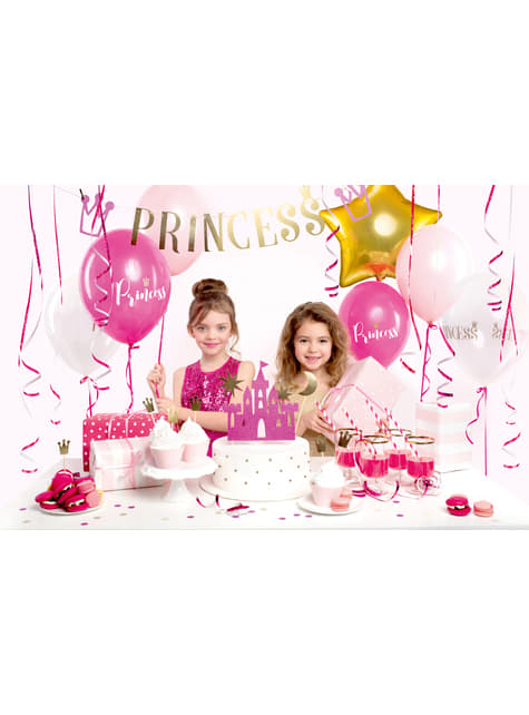 Kit decorativo per festa a tema principessa - Princess