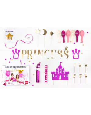 Princess feest decoratie uitrusting - Princess