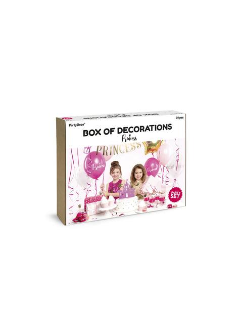 Kit de decoración de fiesta princesa - Princess - para tus fiestas