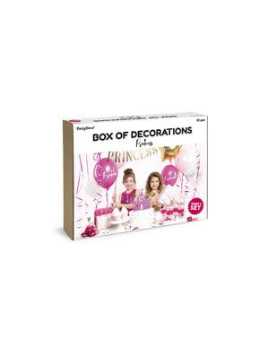 Комплект украса за рожден ден за принцеси– Princess