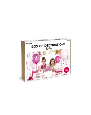 Princess party decoration kit - Princess