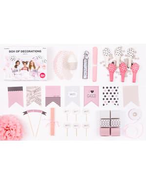 Kit de decoração de festa doce - Sweets