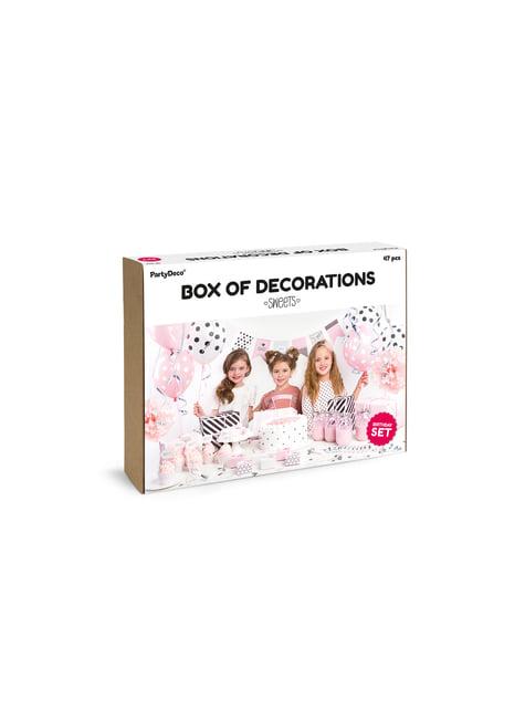 Kit de decoración de fiesta dulce - Sweets - para tus fiestas