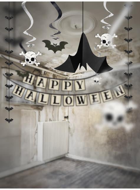 3 colgantes decorativos de murciélagos - Halloween - comprar