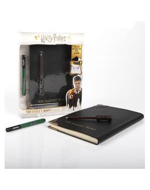Dagbok Tom Riddle med kulspetspenna och osynligt bläck - Harry Potter