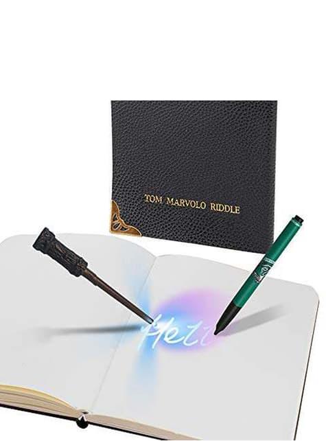Diario de Tom Riddle con bolígrafo tinta invisible - Harry Potter - barato