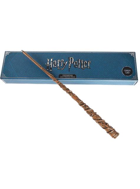 Digital Hermione tryllestav med lys - Harry Potter